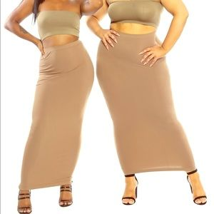Dresses & Skirts - Super Stretchy Maxi (One Size to Plus)